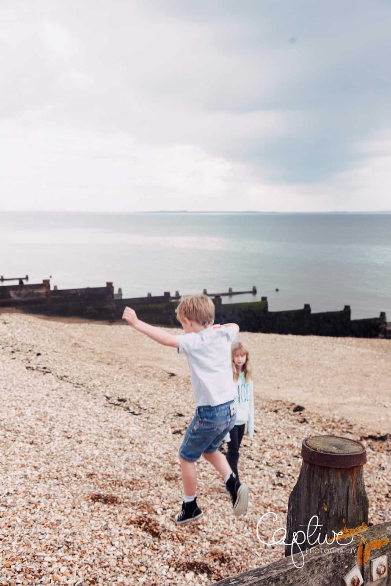 beach photos in Whitstable