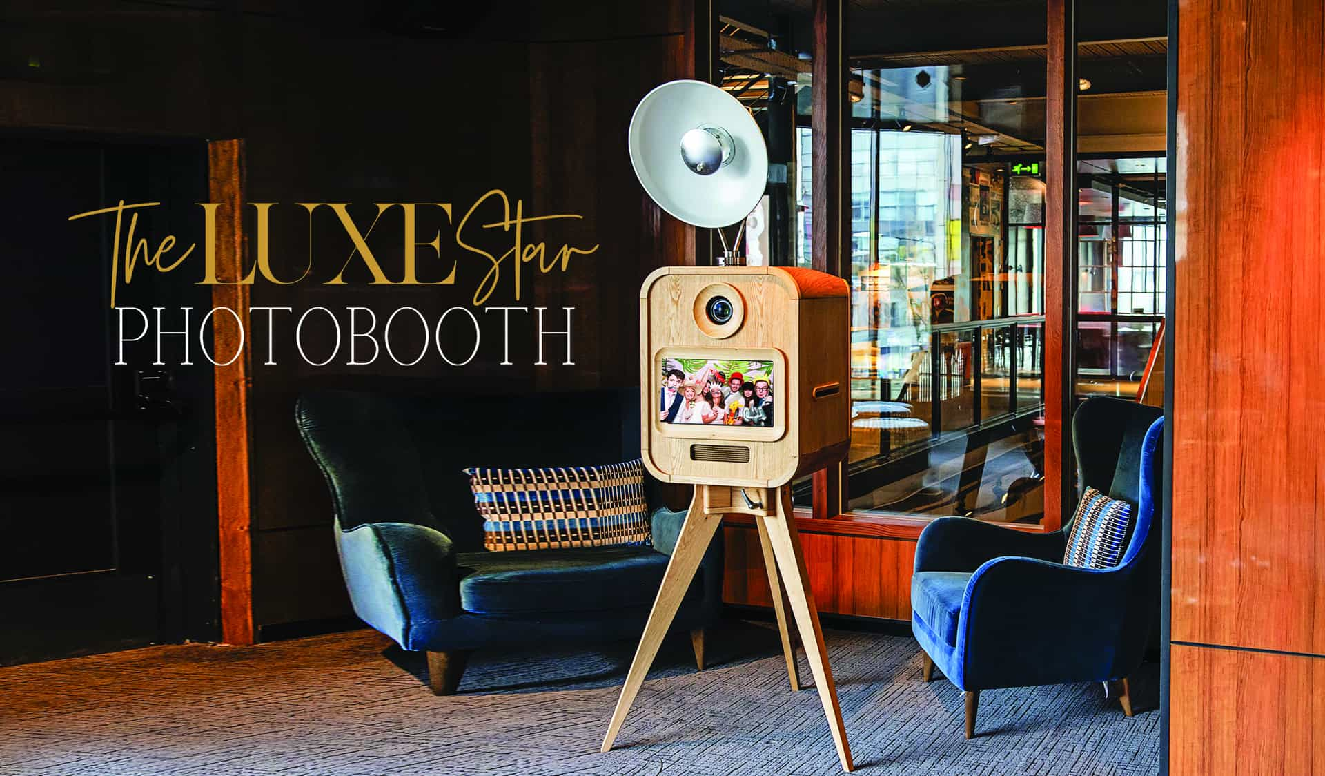 Introducing the LUXESTAR photo booth