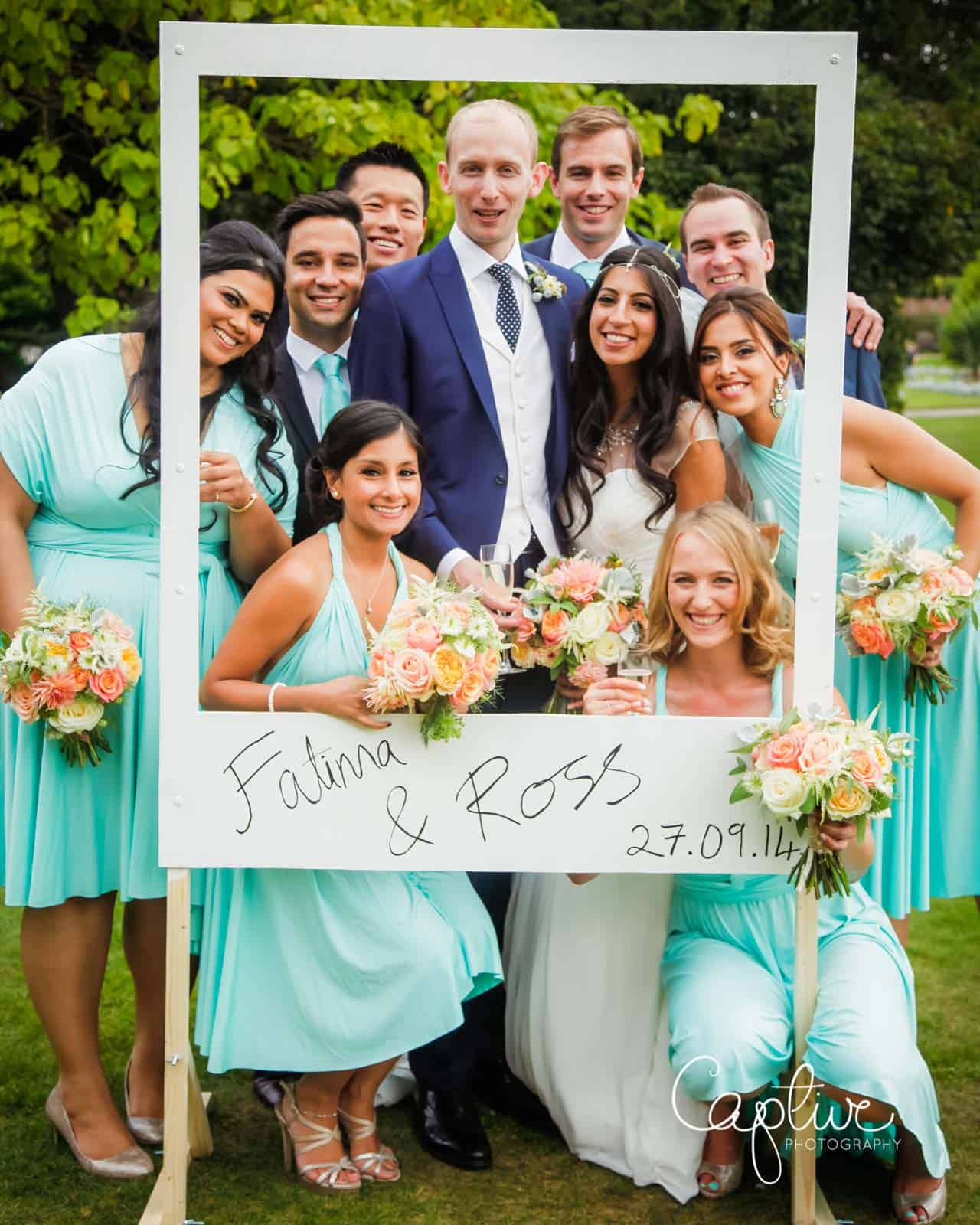 fun wedding group photos