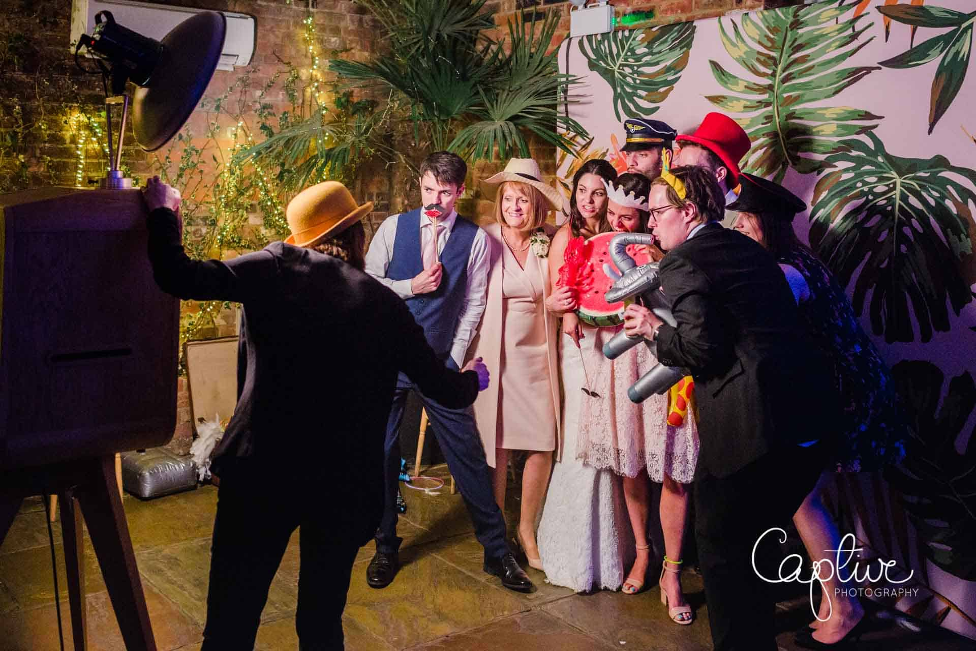 LUXEStar Photo Booth at Northbrook Park Wedding