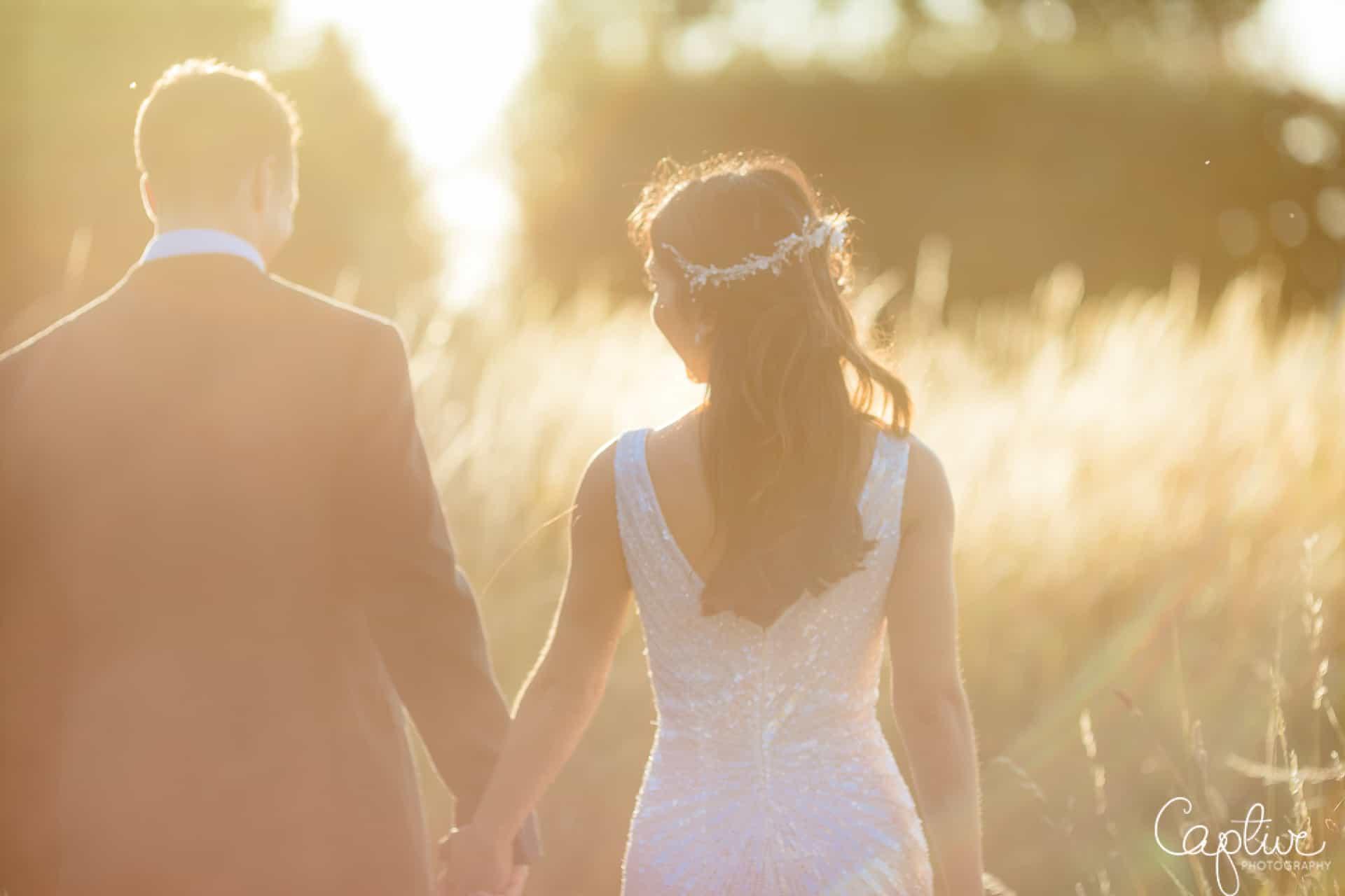 Wedding photo at pentney Abbey Estate