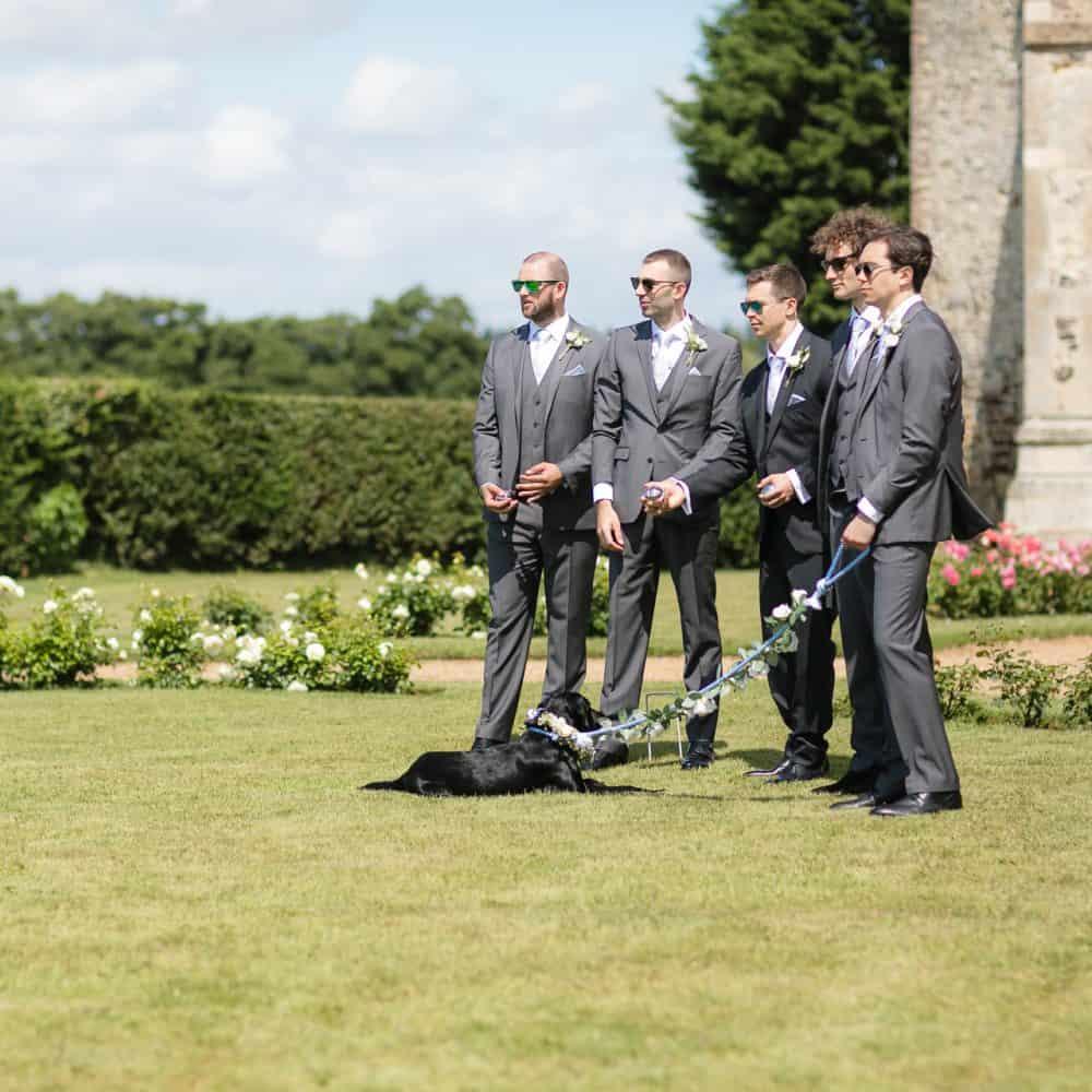 Pentney Abbey Estate Norfolk Barn Wedding-24