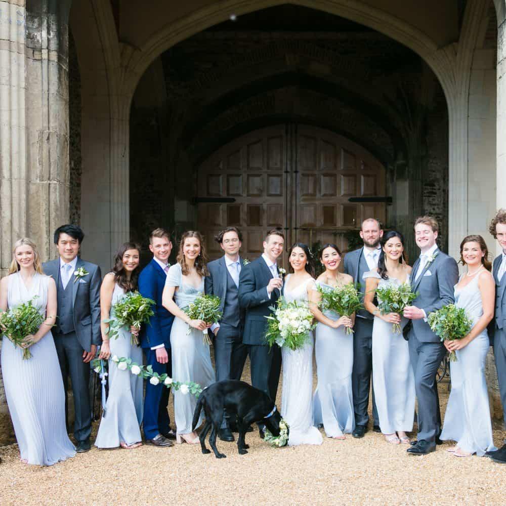 Pentney Abbey Estate Norfolk Barn Wedding-79